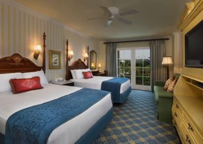 Habitación del Disney Boardwalk Resort