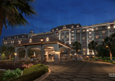 Disney riviera resort entrance
