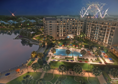 Vista aérea Disney Riviera Resort