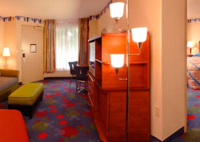habitación familiar Disney all star music resort
