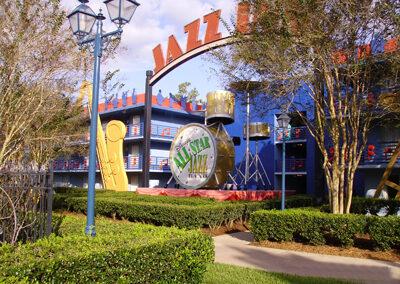 Disney all star music exterior