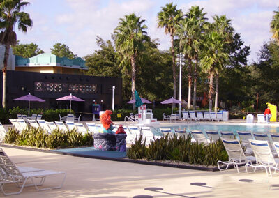 Disney all star movies swimming