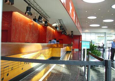 Disney all star movies lobby