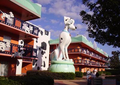 Dalmatas Disney all Star Movies Resort