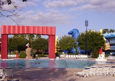 Piscina Disney all Star Movies Resort
