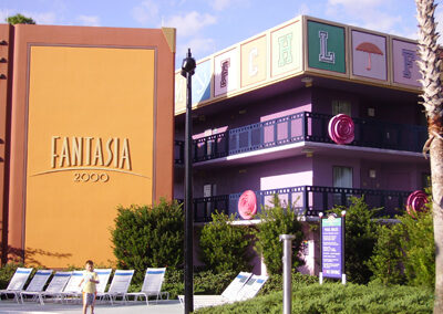 Fantasia Book Disney all Star Movies Resort