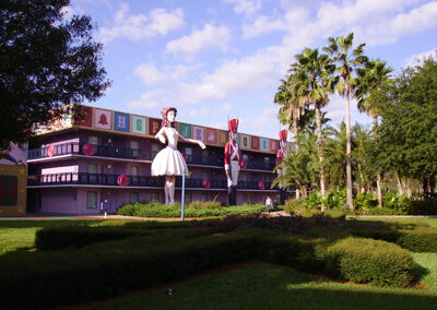 Habitaciones Disney all Star Movies Resort