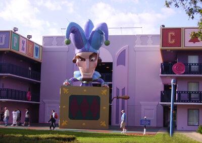 Disney all star movies exterior