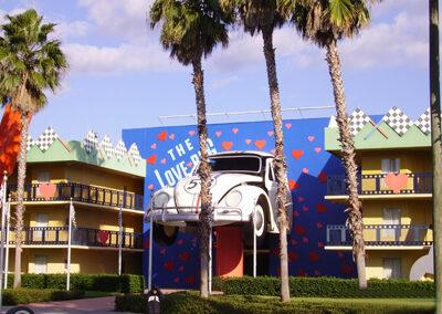 Beetle Disney all Star Movies Resort