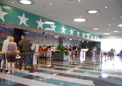 Lobby Disney all Star Movies Resort