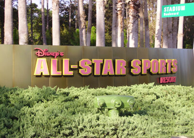Entrada Disney All Star Sports Resort
