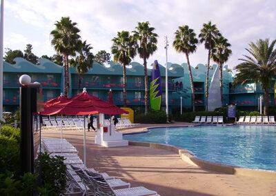 Piscina Disney all Star Sports Resort