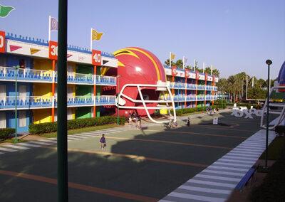 Disney all star sports exterior