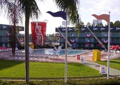 Vaso Coca cola Disney all Star Sports Resort