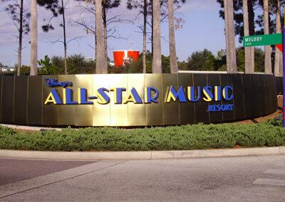 Entrada Disney all Star Music Resort