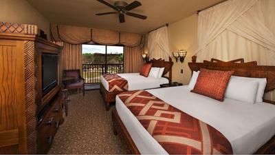 Habitación en Disney Animal Kingdom Lodge