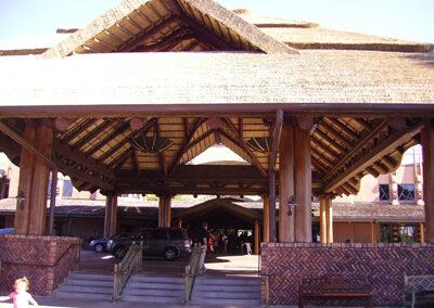 Entrada de Disney animal Kingdom Lodge