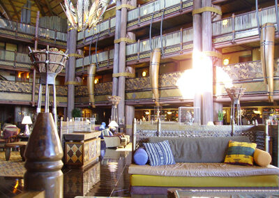 Lobby de Disney Animal Kingdom Lodge