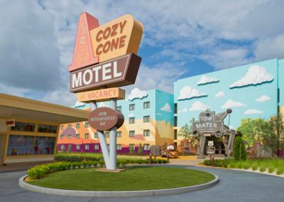 Rotonda Cars disney Art of Animation Resort