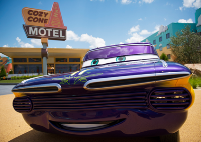 Cars disney Art of Animation Resort