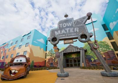Exterior Cars disney Art of Animation Resort