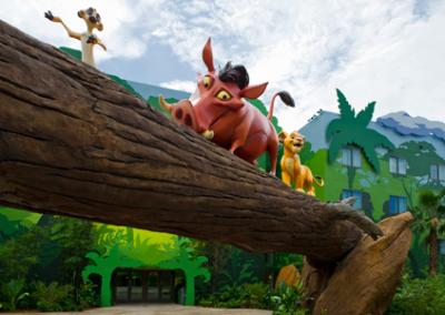 Pumba disney Art of Animation Resort