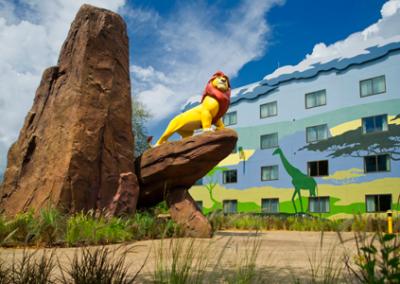Rey León disney Art of Animation Resort