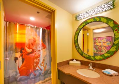 habitacion rey leon disney Art of Animation Resort