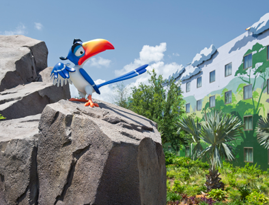 Exterior disney Art of Animation Resort