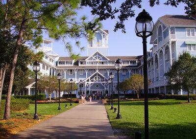 Entrada del Disney Beach club Resort