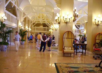 Lobby del Disney Beach club Resort