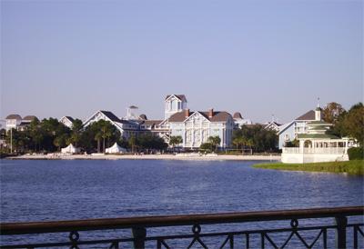 Exterior del Disney Beach Club Resort