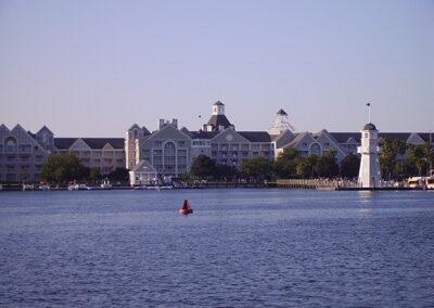 Exteriores del Disney Boardwalk Resort