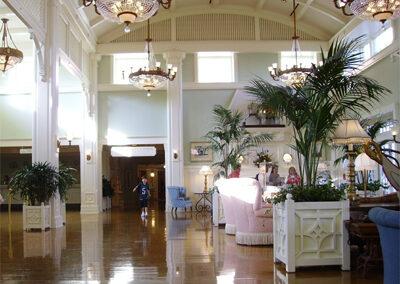Lobby del Disney Boardwalk Resort