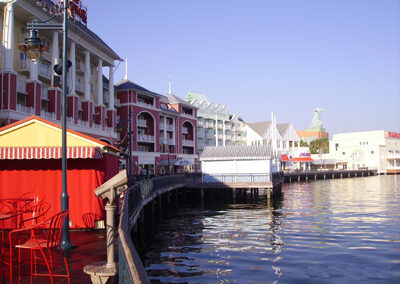 Disney Boardwalk Resort Exterior