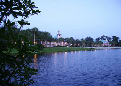 disney caribbean beach resort exterior