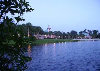 Vista del lago Disney Caribbean Beach Resort