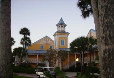 Exterior Disney Caribbean Beach Resort