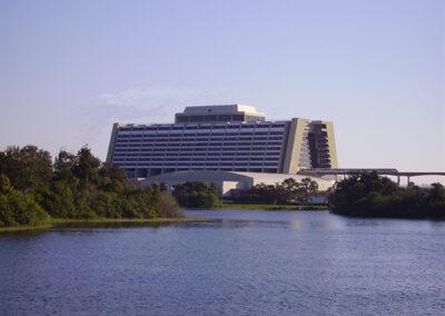Exterior del Disney Contemporary Resort