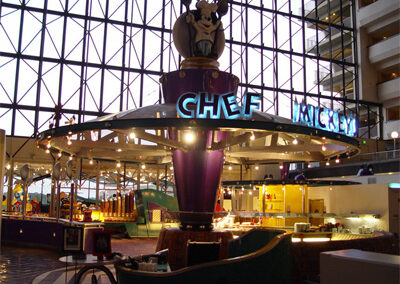 Chef Mickey en el Disney contemporary Resort