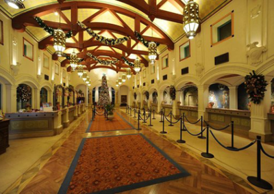 Disney Coronado Springs resort lobby
