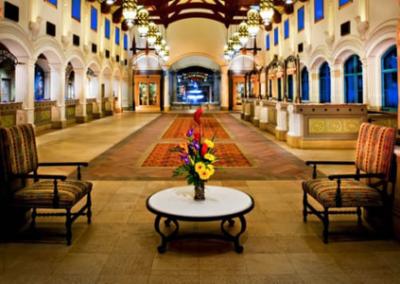 Lobby Piscina Disney Coronado Springs