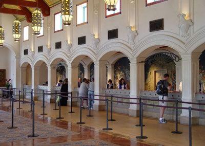 Lobby del Disney Saratoga Springs Resort