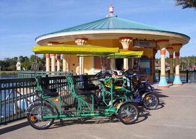 Bicicletas en el Disney Saratoga Springs Resort