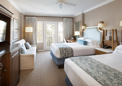 habitación del Disney Beach Club Resort