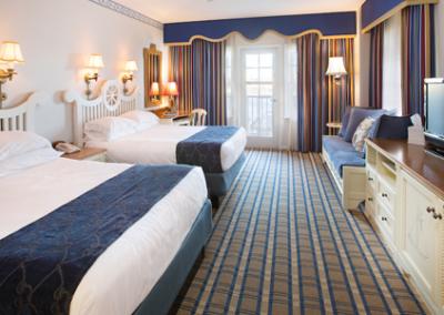 Habitación del Disney Yacht Club Resort