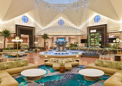 Lobby del Dolphin Resort Atrium