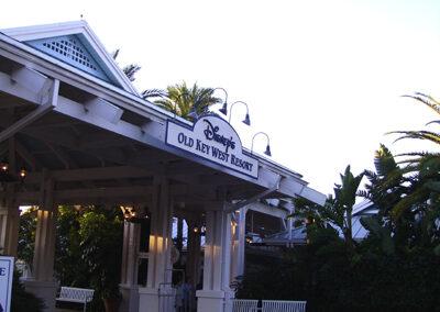 Entrada disney old key west resort