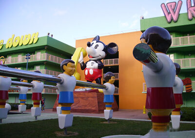 Futbolin disney pop century resort