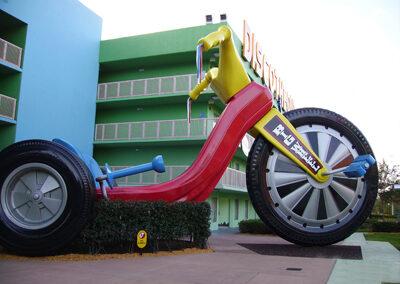 Triciclo disney pop century resort